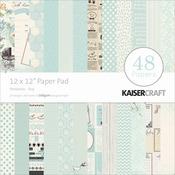 """Peekaboo Boy - Kaisercraft Paper Pad 12""""X12"""" 48/Pkg"""