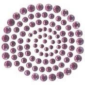 Wine - Self-Adhesive Rhinestones 100/Pkg