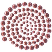 Lippy Red - Self-Adhesive Rhinestones 100/Pkg