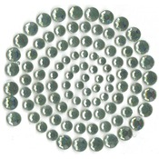 Blue Gray (Light Green) - Self-Adhesive Rhinestones 100/Pkg