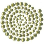 Split Pea - Self-Adhesive Rhinestones 100/Pkg