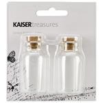 "1""X2"" - Treasures Corked Bottles 2/Pkg"