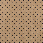 "DIY Shop 2 Specialty Surface 12""x12""-Burlap/Polka Dot"