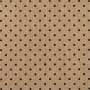 "DIY Shop 2 Specialty Surface 12""x12""-Burlap/Polka Dot"