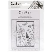 Dancing Dragonflies - Crafty Individuals Unmounted Rubber Stamp
