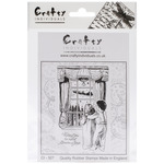 Waiting For Santa - Crafty Individuals Unmounted Rubber Stamp