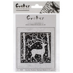 Magical Reindeer - Crafty Individuals Unmounted Rubber Stamp