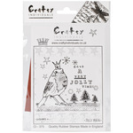 Jolly Robin - Crafty Individuals Unmounted Rubber Stamp