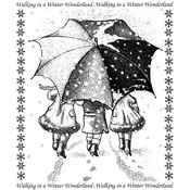 Winter Wonderland - Crafty Individuals Unmounted Rubber Stamp