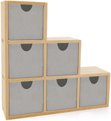 Beyond The Page MDF Bookend Drawers