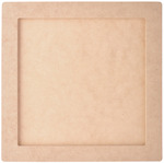 """Beyond The Page MDF Square Frame - 10""""X10"""", 8""""X8"""" Opening"""