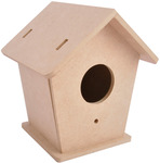 Beyond The Page MDF Birdhouse
