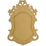 "14.25""X10""X.5"" - Beyond The Page MDF Small Ornate Frame"