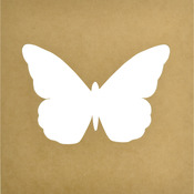 """12""""X12"""", 8.5""""X6"""" Cutout - Beyond The Page MDF Butterfly Silhouette Wall Art Fram"""
