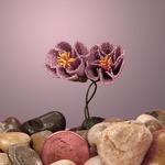 """Lavender Bonnet Wildflower Bouquet 1 1/8"""""""