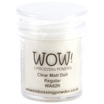 Clear Matte Dull - WOW! Embossing Powder 15ml