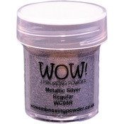 Silver - WOW! Embossing Powder 15ml