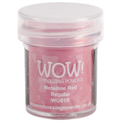 WOW! Embossing Powder 15ml - Red Metalline
