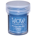 WOW! Embossing Powder 15ml - Dark Blue Metalline