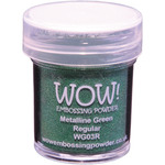 Green Metalline - WOW! Embossing Powder 15ml