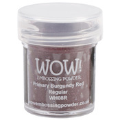 Primary Burgundy Red - WOW! Embossing Powder 15ml