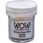 Opaque Bright White - WOW! Embossing Powder 15ml