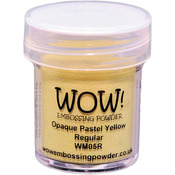 Pastel Yellow - WOW! Embossing Powder 15ml