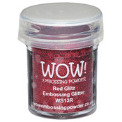 Red Glitz - WOW! Embossing Powder 15ml