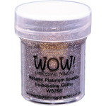 Metallic Platinum Sparkle - WOW! Embossing Powder 15ml