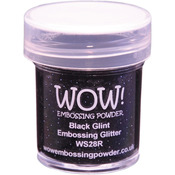 Black Glint - WOW! Embossing Powder 15ml