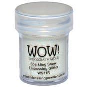 WOW! Embossing Powder 15ml - Sparkling Snow