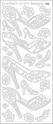Black - High Heels Peel-Off Stickers