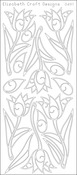 Silver - Tulips Peel-Off Stickers