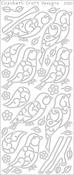 Black - Birds & Branches Peel-Off Stickers