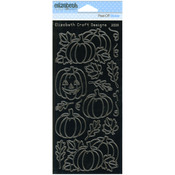 Black - Pumpkins Peel-Off Stickers