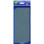 Turquoise - Glitter Dots Assorti Peel-Off Stickers