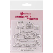 Your New Home - Woodware Clear Stamps