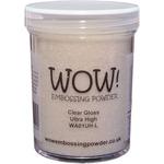 Clear Gloss Ultra High - WOW! Embossing Powder Large Jar 160ml