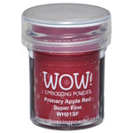 Primary Apple Red - WOW! Embossing Powder Super Fine 15ml
