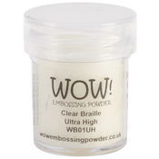 WOW! Embossing Powder Ultra High 15ml - Braille