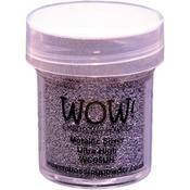 Metallic Silver - WOW! Embossing Powder Ultra High 15ml