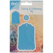 Scallop Tag - Joy! Crafts Cut & Emboss Die