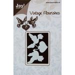 Vintage Flourishes/Dove & Heart - Joy! Crafts Cutting Die