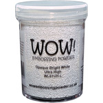 Opaque Bright White - WOW! Embossing Powder Ultra High Large Jar 160ml