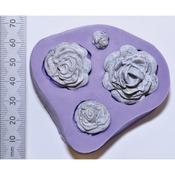 Rose Quartet - WOW! 3D Molds