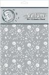 Floral A4 Vellum Sheets - Fundamentals - Ruby Rock - it