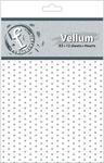Hearts A5 Vellum Sheets - Fundamentals - Ruby Rock - it