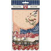 Oriental Chic Die - Cut Pad 18/Sheets-