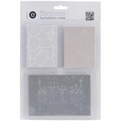 Designer & Basic - Empire Bebe Foundation Cards 54/Pkg