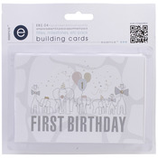Empire Bebe Building Cards 54/Pkg - Titles & Timelines